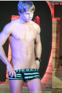 young boy striptease dancer
